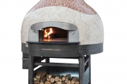 forno tradizionale a legna versione cupolsa mosaico